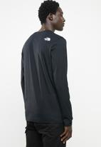 The North Face - M long sleeve easy tee - black