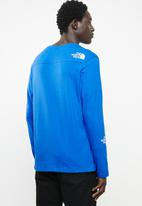 The North Face - Light long sleeve tee - blue