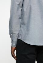 Brave Soul - Brett shirt - charcoal