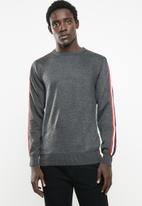 Night Addict - Nathaniel jersey - charcoal