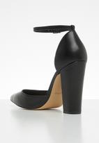 ALDO - Nicholes leather heel - black