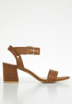 STYLE REPUBLIC - Ankle-strap heels - tan