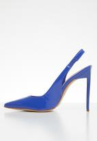 ALDO - Slingback stiletto pump - blue