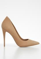 ALDO - Suede slip-on stiletto heel - beige