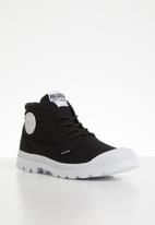 Palladium - Blanc lite low cuff - black