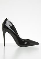 ALDO - Slip-on stiletto heel pump - black
