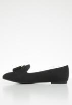 ALDO - Tassel front loafer - black