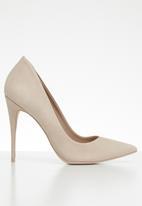 ALDO - Suede slip-on stiletto heel - neutral