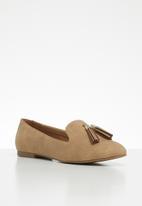 ALDO - Tassel front loafer - beige