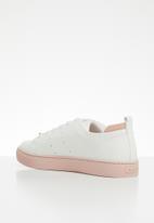 ALDO - Flatform sneaker - white & pink