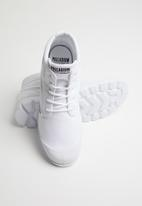 Palladium - Blanc lite low cuff - white