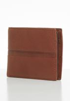 Fossil - Roger large coin bifold - cognac