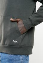 RVCA - Scratched RVCA hoodie - grey