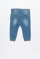 name it - Bibi jogger denim pants - blue