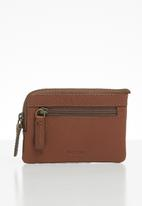 Fossil - Nigel coin pouch - brown
