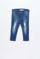 name it - Theo tate denim pants - blue