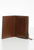 Fossil - Philip card case bifold - brown