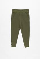 POP CANDY - Kids 2 pack tracksuit pants - navy & green