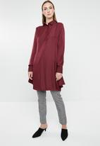 G Couture - Longer length shirt - red