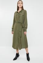 G Couture - Shirt dress - olive