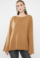 G Couture - Loose fit jumper - rust