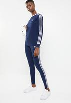 adidas Originals - 3 Stripe leggings - navy