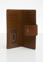 Fossil - Logan bifold - brown