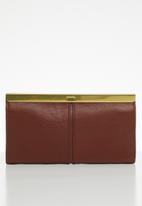 Fossil - Kayla frame purse - tan