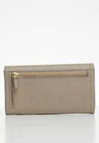 Fossil - Logan flap purse - grey