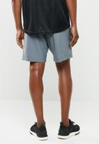 Reebok - Wor woven graphic short - grey
