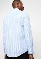 Pringle of Scotland - Brinsley tailored shirt - blue & white