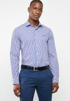 Pringle of Scotland - Grainger tailored fit shirt - navy