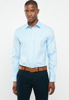 Pringle of Scotland - Domnall tailored shirt - blue