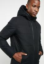 Jack & Jones - Draw puffer - black