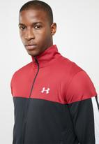 Under Armour - Sportstyle pique jacket - black