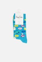 Happy Socks - Poolparty socks - multi