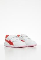PUMA - Stepfleex 2 sl v infant - white/pale pink