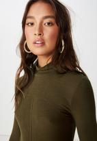 Cotton On - Haze long sleeve top - green