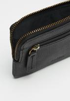 Fossil - Nigel coin pouch - black