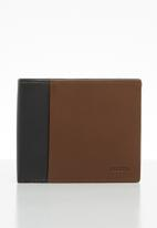 Fossil - Ward large coin bifold - cognac