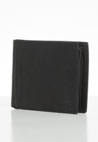 Fossil - Coin bifold large coin pkt bifold - black