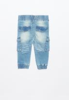 name it - Romeo jogger denim pants - blue