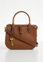 Fossil - Ryder mini satchel - brown