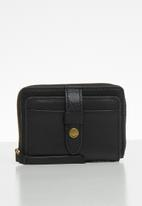 Fossil - Fiona coin - black