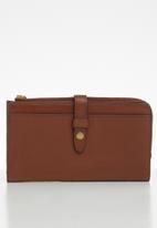 Fossil - Fiona purse - brown