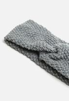 Superbalist - Knotted headband - grey