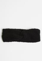 Superbalist - Knotted headband - black