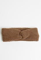 Superbalist - Knotted headband - brown