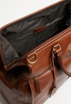Fossil - Defender duffle - brown