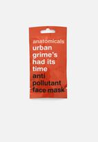 anatomicals - Urban grime's had its time - anti pollutant face mask